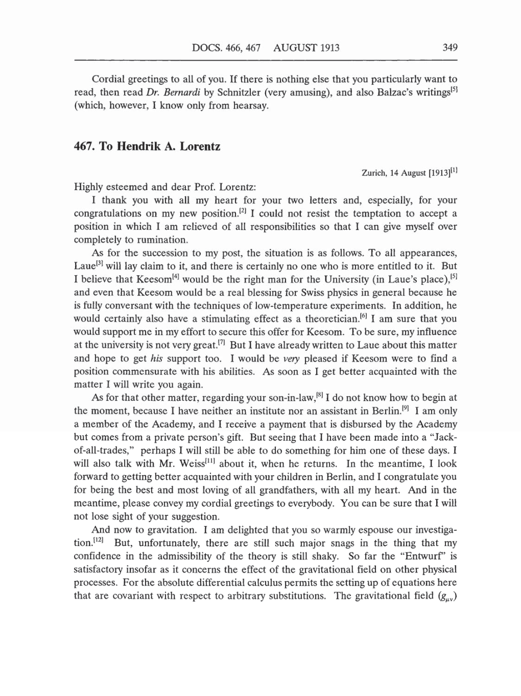 volume 5 the swiss years correspondence 1902 1914 english translation supplement page 349. Black Bedroom Furniture Sets. Home Design Ideas